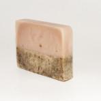 Málnaleveles-rózsaszín agyagos szappan