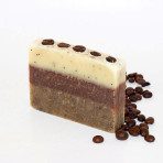 Kávés-kakaóvajas szappan